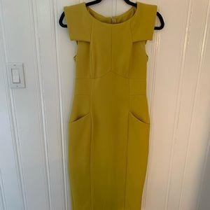 ASOS Pencil Dress with Fold Sleeve